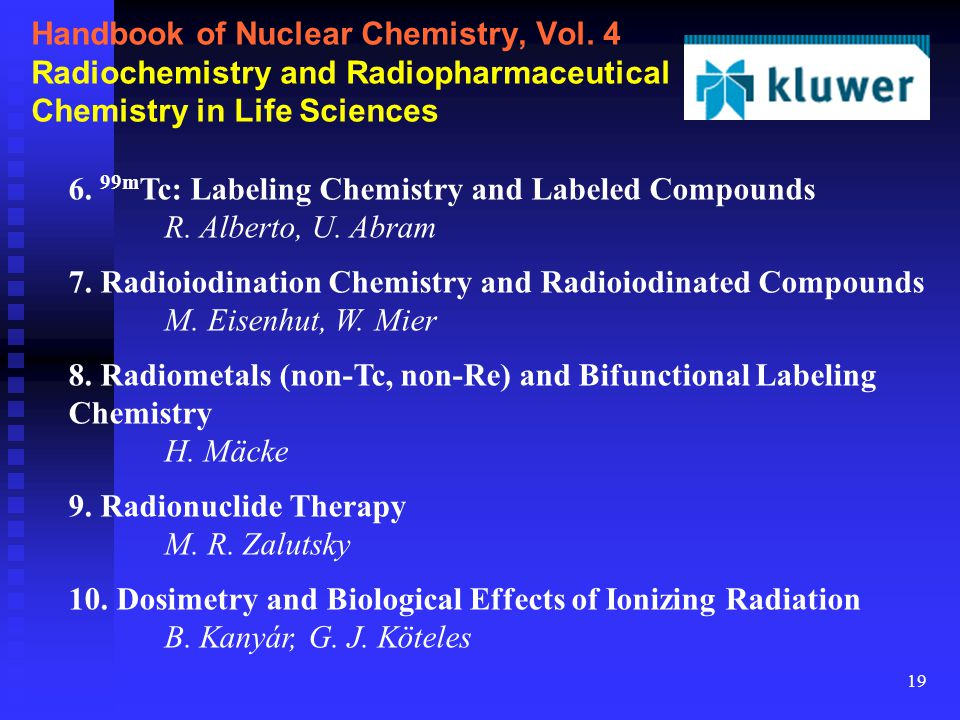 19 Handbook of Nuclear Chemistry, Vol.