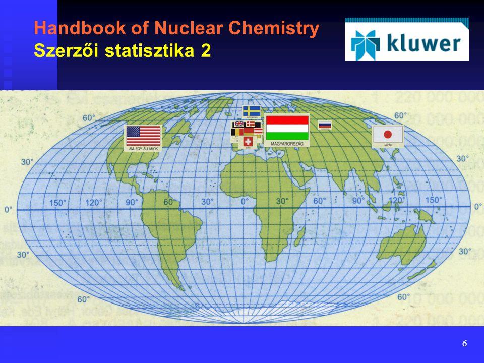 6 Handbook of Nuclear Chemistry Szerzői statisztika 2