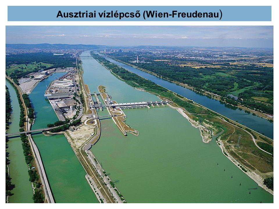 Ausztriai vízlépcső (Wien-Freudenau )