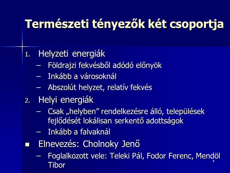 7 Helyzeti energiák