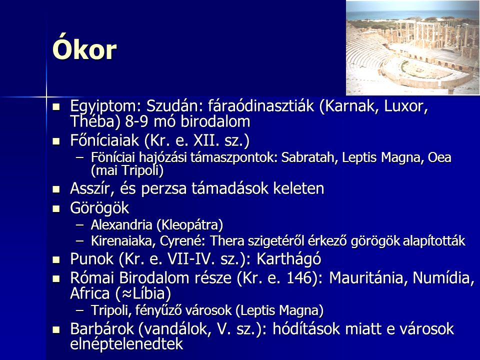 Ókor Egyiptom: Szudán: fáraódinasztiák (Karnak, Luxor, Théba) 8-9 mó birodalom Egyiptom: Szudán: fáraódinasztiák (Karnak, Luxor, Théba) 8-9 mó birodalom Főníciaiak (Kr.