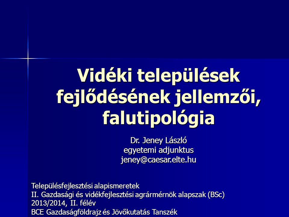 """12 Vidék: városlakók alacsony aránya Országonként eltér a kritérium Országonként eltér a kritérium 3-féleképpen változhat a városlakók aránya: 3-féleképpen változhat a városlakók aránya: 1.Városok nagyobb természetes szaporodásával (nem jellemző) 2.Faluból városba áramlással 3.Várossá nyilvánítással (esetleg falu városhoz csatolásával) 2009328 Várossá nyilvánítási """"boom Magyarországon 1990 után Várossá nyilvánítási """"boom Magyarországon 1990 után –Falvak átlagnépessége kisebb –Falvak átlag intézmény-ellátottsága kisebb"""