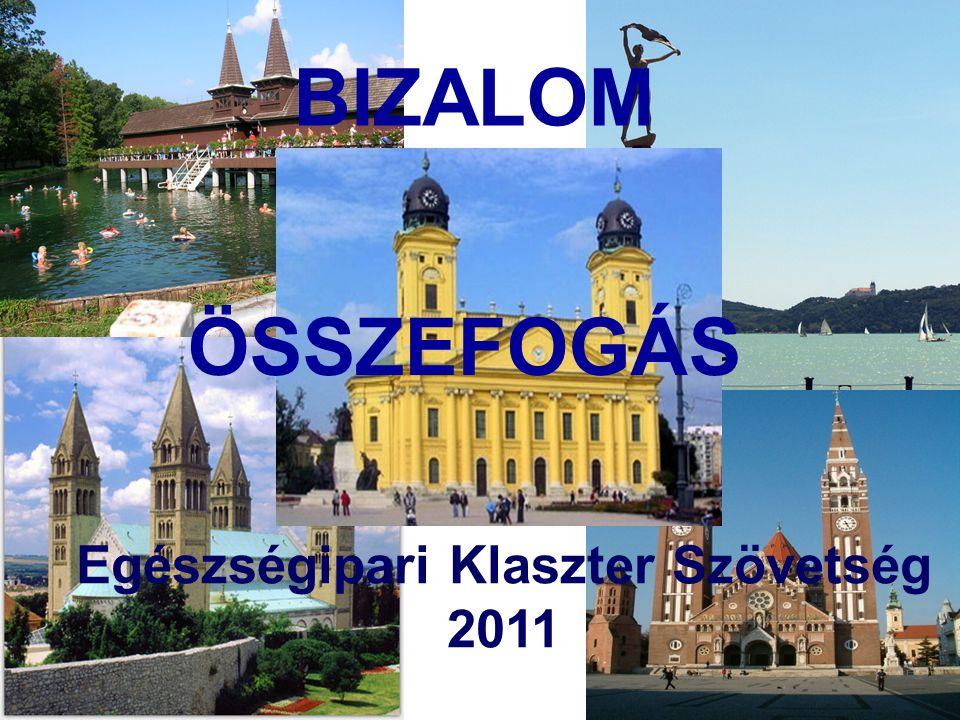 BIZALOM ÖSSZEFOGÁS Egészségipari Klaszter Szövetség 2011