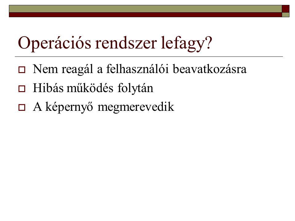 ECDL IT  252.Melyik a mondat helyes befejezése.