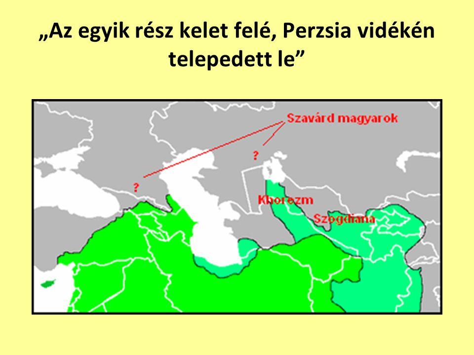 """Anonymus és Kézai Simon Szcítia határairól Anonymus: """"Szcítia tehát igen nagy föld, melyet Dentü- mogyernek hívnak."""