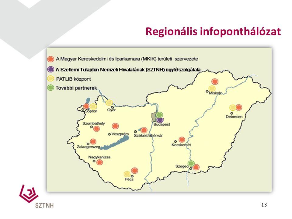 Regionális infoponthálózat 13