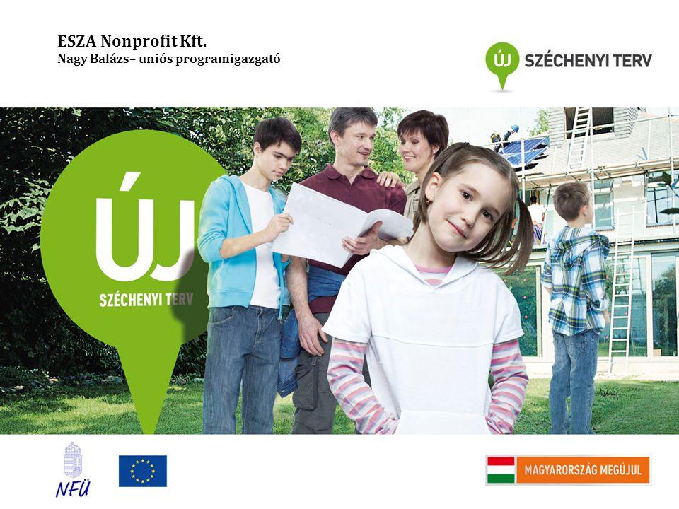 ESZA Nonprofit Kft. Nagy Balázs– uniós programigazgató