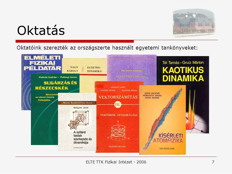 ELTE TTK Fizikai Intézet - 20068 Mire jó a fizika.
