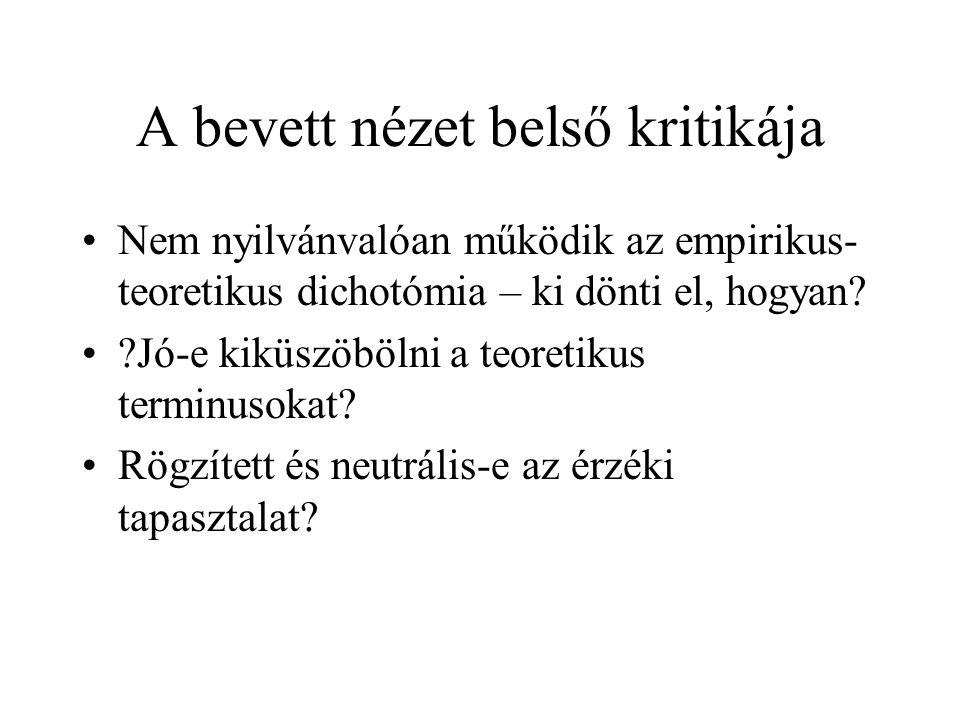 Irodalom Laki J.(szerk).: Tudományfilozófia. Osiris, 1998.