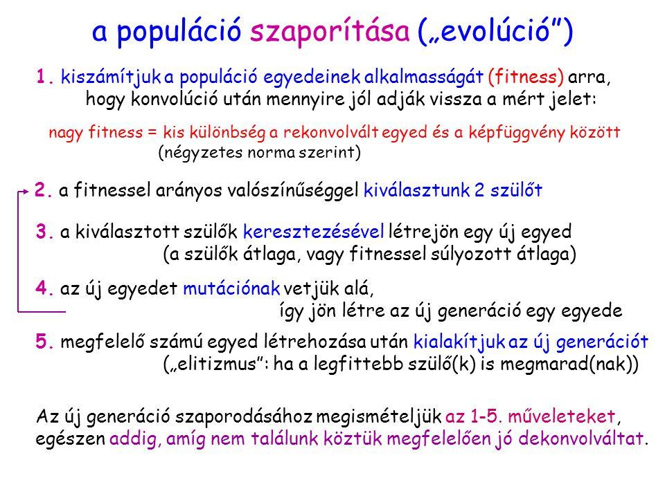 """a populáció szaporítása (""""evolúció ) 1."""