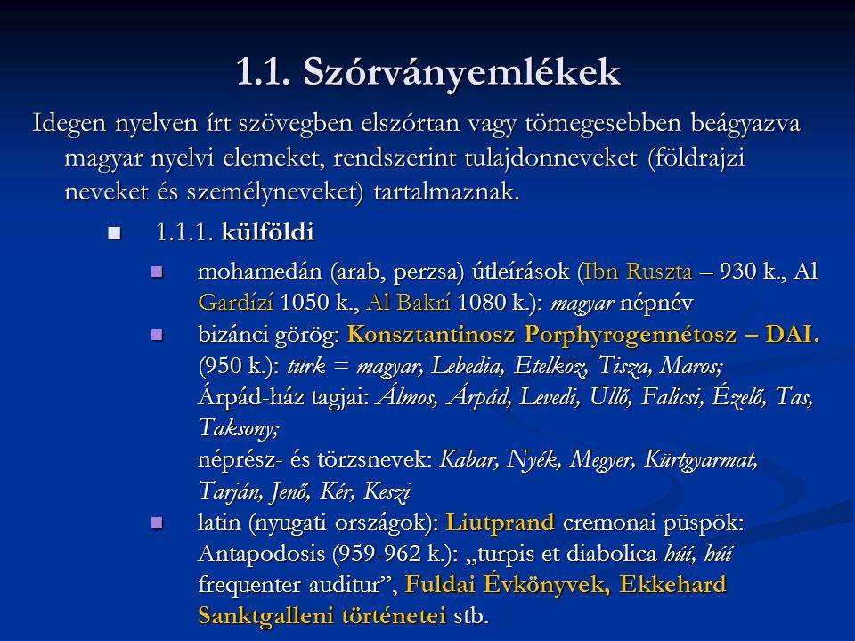 Jókai kódex: Szent Ferenc legendáriuma (részlet)