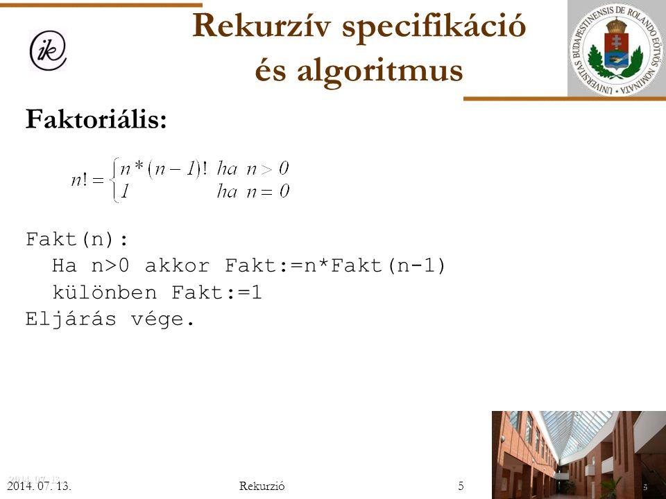 Párhuzamos maximum-minimum kiválasztás  leállási feltétel: az éppen vizsgált sorozatnak legfeljebb 2 eleme van: a maximum és a minimum 1 hasonlítással meghatározható  felbontás: a sorozat két részsorozatra bontása (középen) X 1,...