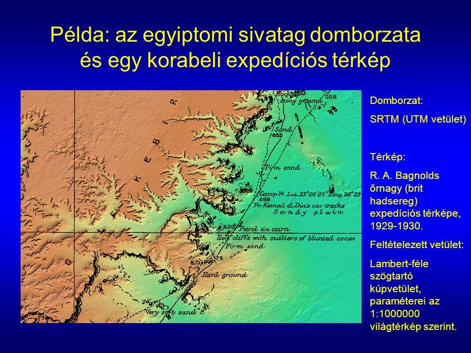 Domborzat: SRTM (UTM vetület) Térkép: R.A.