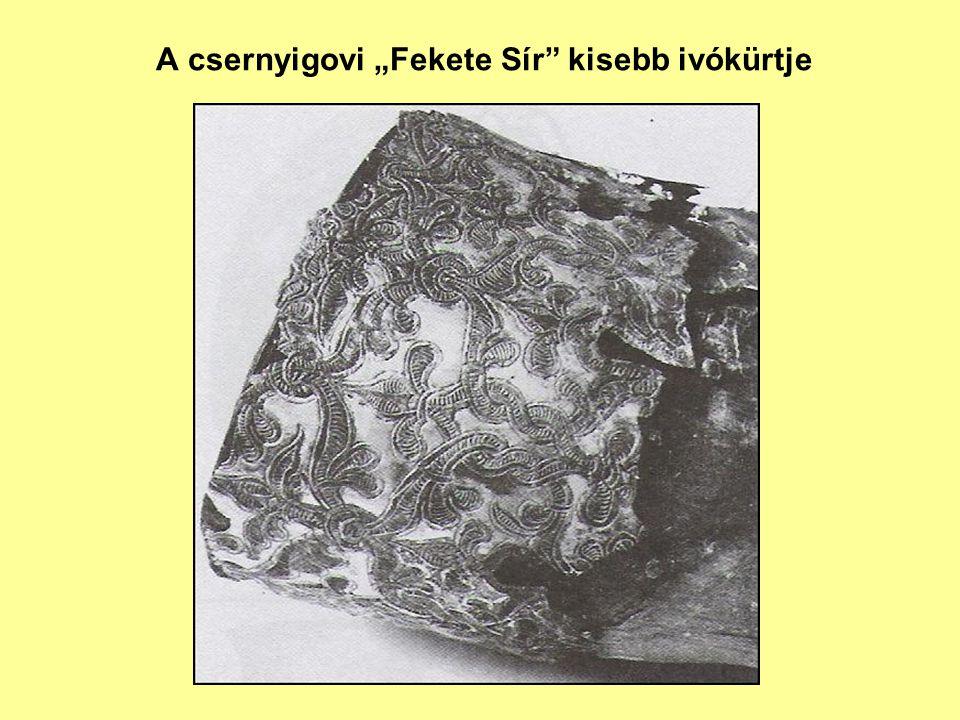 """A csernyigovi """"Fekete Sír"""" kisebb ivókürtje"""
