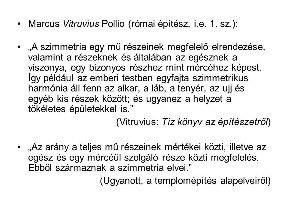 Marcus Vitruvius Pollio (római építész, i.e.1.