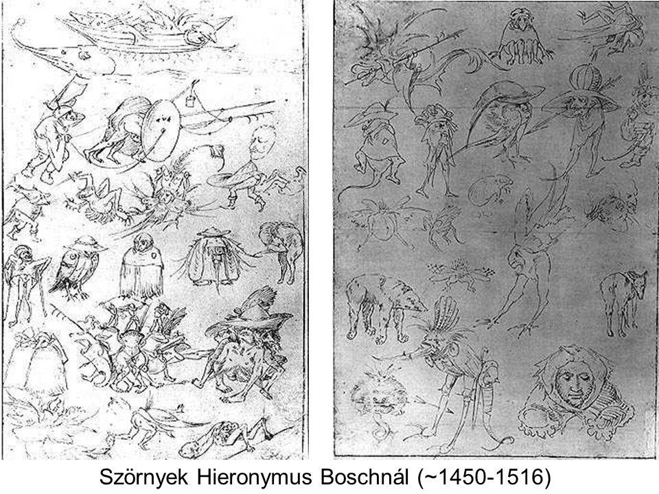Szörnyek Hieronymus Boschnál (~1450-1516)