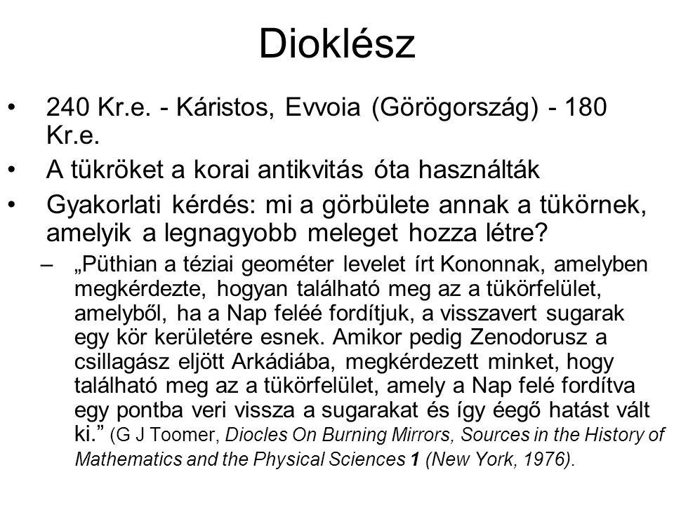 Dioklész 240 Kr.e.- Káristos, Evvoia (Görögország) - 180 Kr.e.