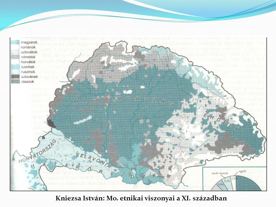 Kniezsa István: Mo. etnikai viszonyai a XI. században
