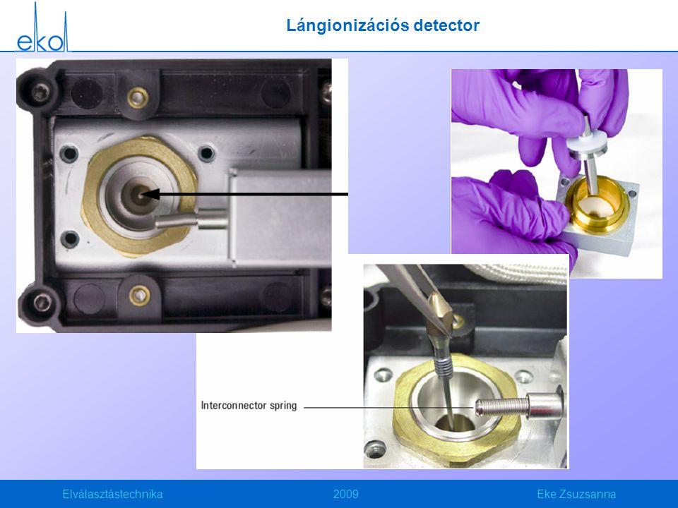 Elválasztástechnika2009Eke Zsuzsanna Lángionizációs detector