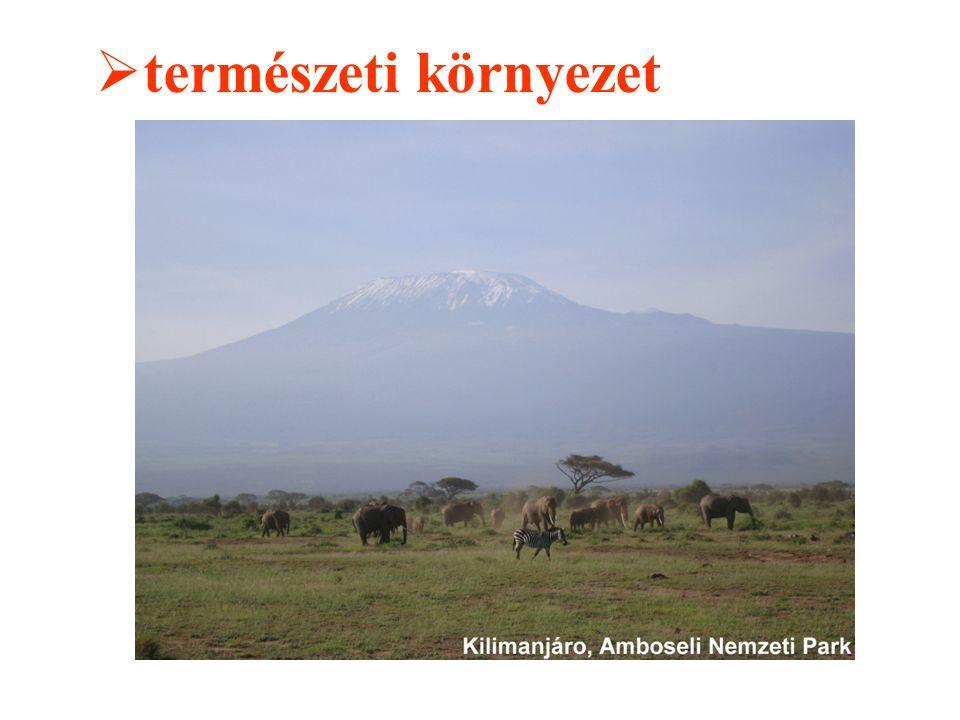  természeti környezet