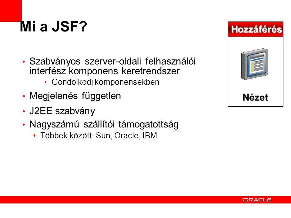 Mi a JSF.
