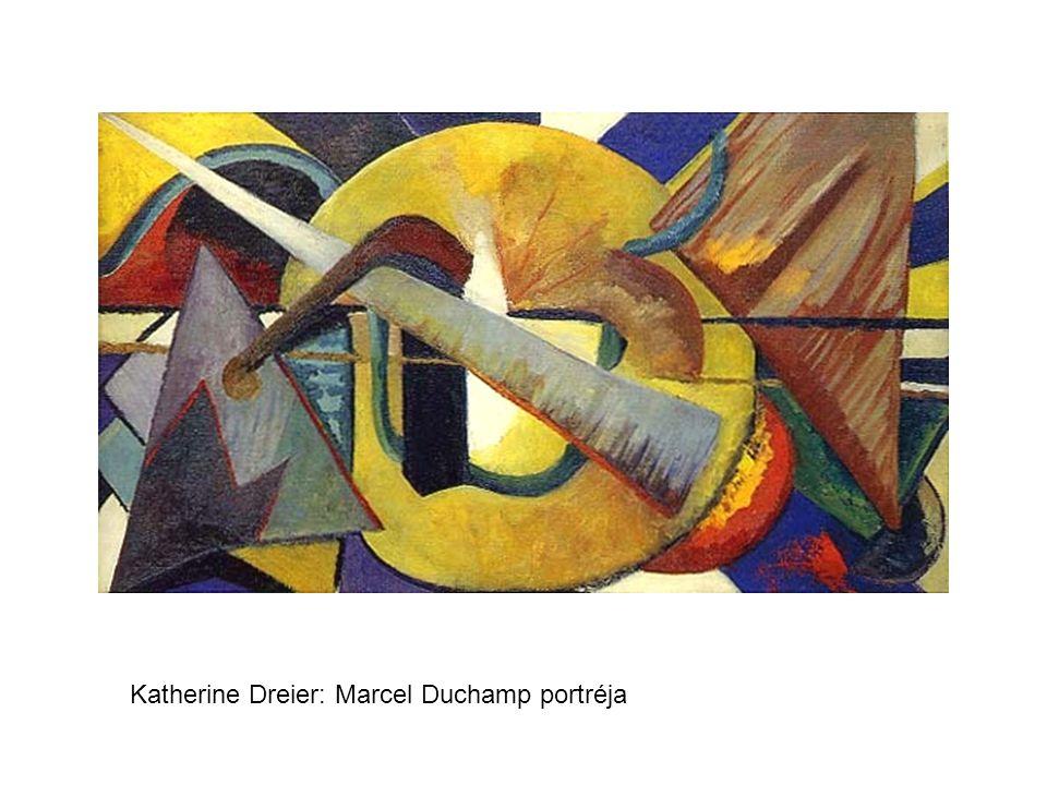 Katherine Dreier: Marcel Duchamp portréja