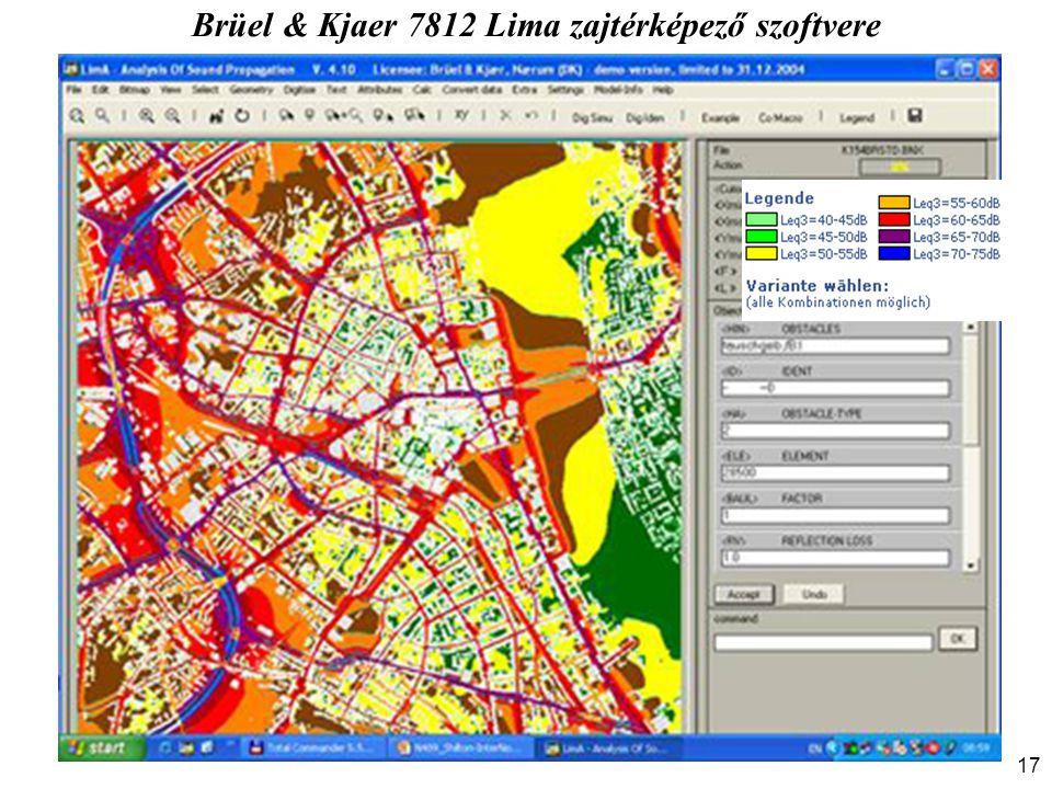 Brüel & Kjaer 7812 Lima zajtérképező szoftvere 17