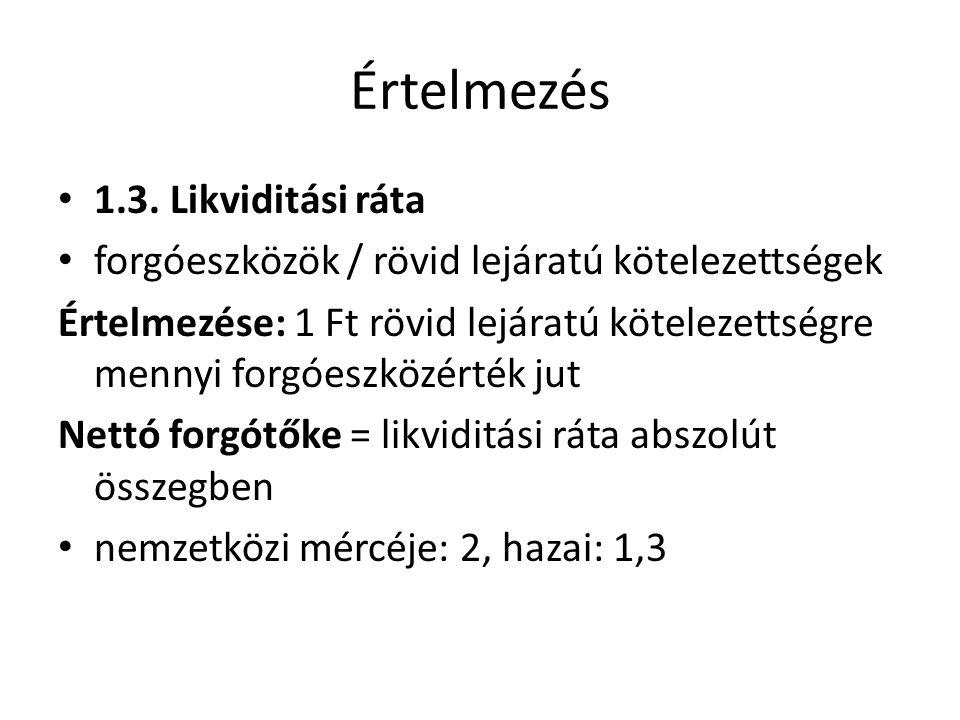 Értelmezés 1.3.