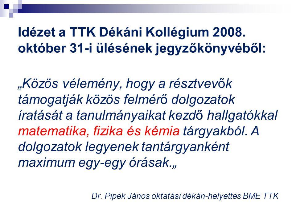 Az országos vizsgálatok célkitűzései és lebonyolításuk 2009.