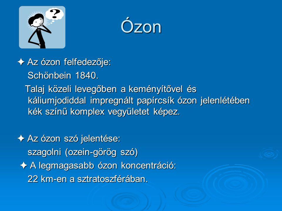 SZTRATOSZFÉRIKUS ÓZON, ANTARKTISZI ÓZONLYUK Készítette: Horváth Boglárka Kovács Mária Zombori Gyöngyi 2007. november