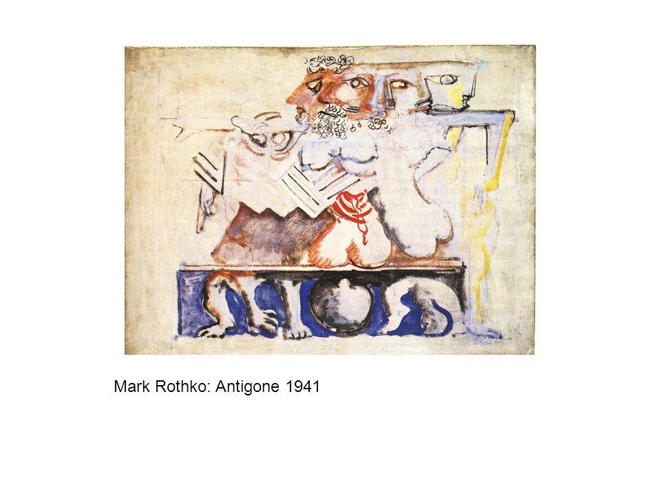 Mark Rothko: Antigone 1941