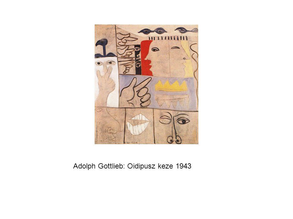Hans Hofmann: Katedrális 1957