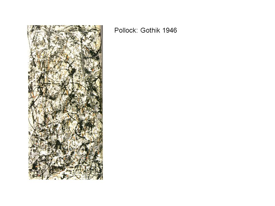 Pollock: Gothik 1946