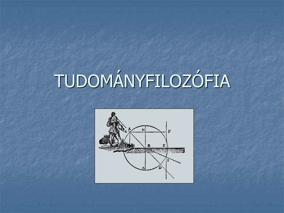 Vizsga Előadások: Előadások: http://hps.elte.hu/~gszabo/Filozofiadiszciplinai.html http://hps.elte.hu/~gszabo/Filozofiadiszciplinai.html Tudományfilozófia Tudományfilozófia Tankönyv: Tankönyv: I.