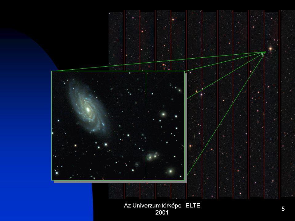 Az Univerzum térképe - ELTE 2001 5