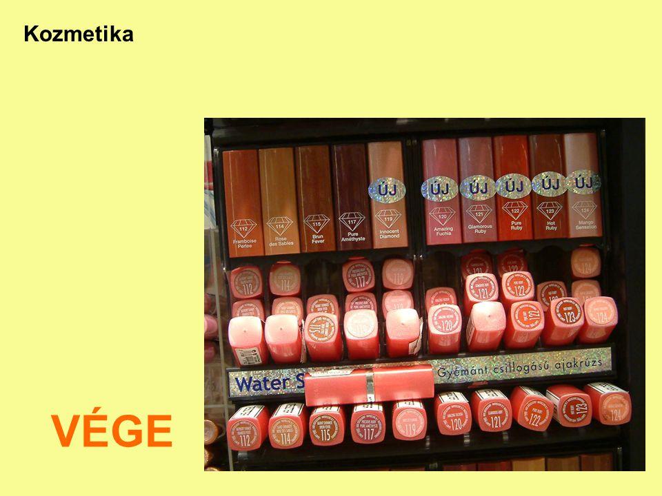 27 Kozmetika VÉGE