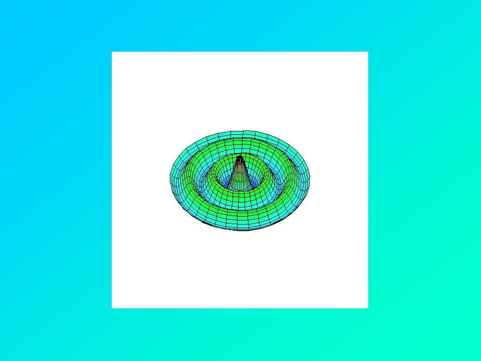 Kvantumbiliárdok A biliárd mérete: néhány száz nanométer kb.