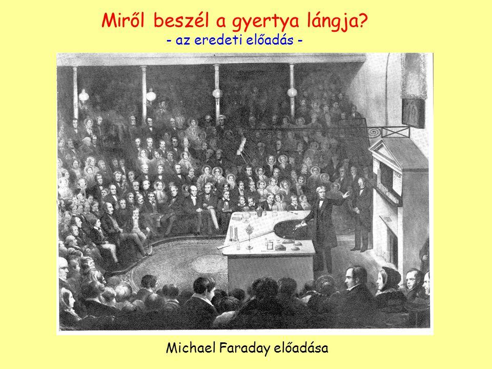 Miről beszél a gyertya lángja? - az eredeti előadás - Michael Faraday előadása