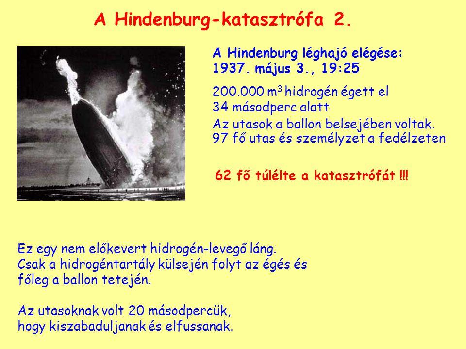 A Hindenburg-katasztrófa 2.A Hindenburg léghajó elégése: 1937.