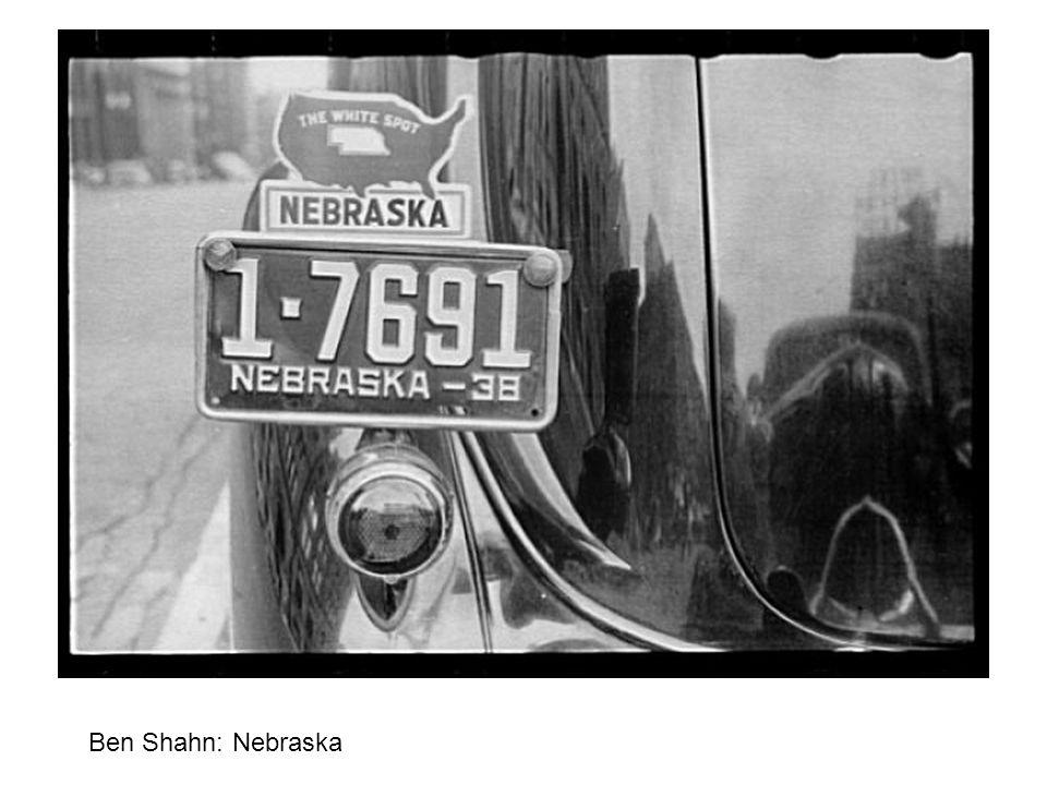 Ben Shahn: Nebraska
