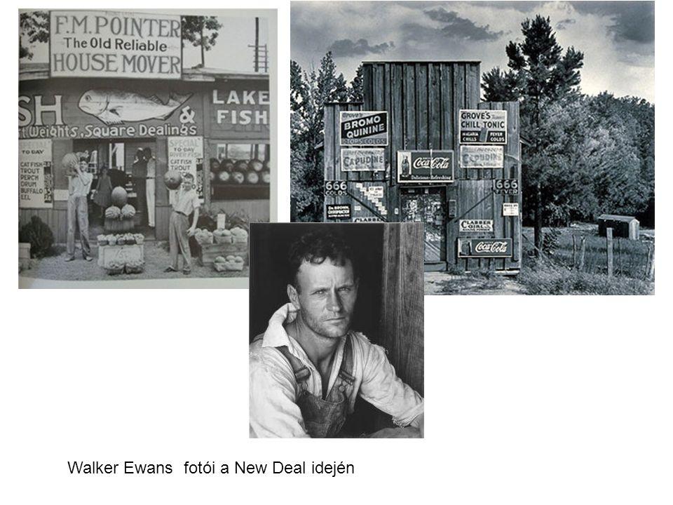 Walker Ewans fotói a New Deal idején