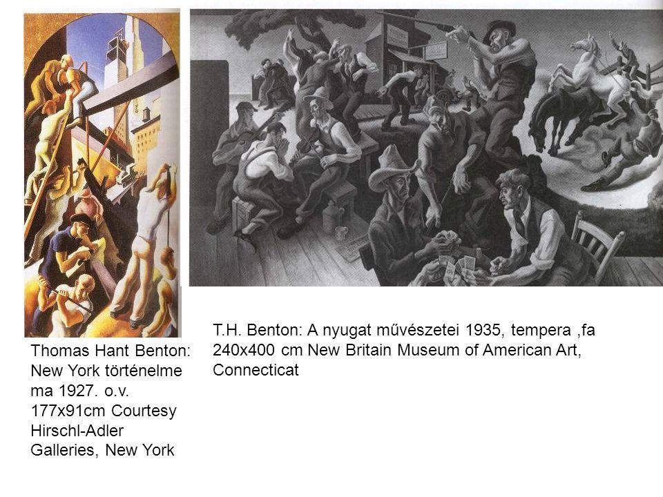 Thomas Hant Benton: New York történelme ma 1927. o.v.