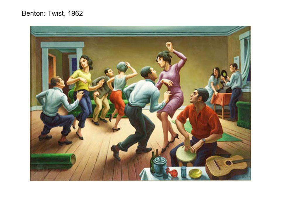 Benton: Twist, 1962