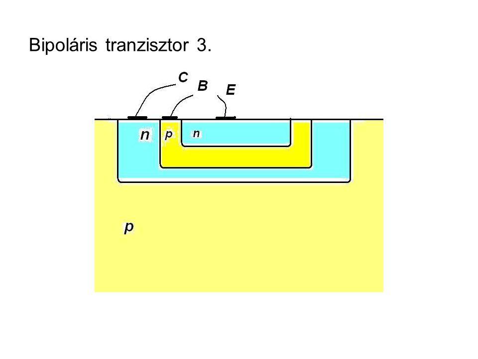 Bipoláris tranzisztor 3.