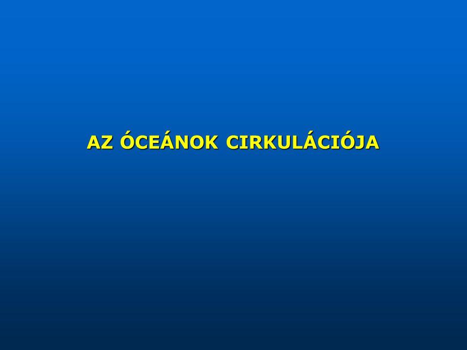 AZ ÓCEÁNOK CIRKULÁCIÓJA