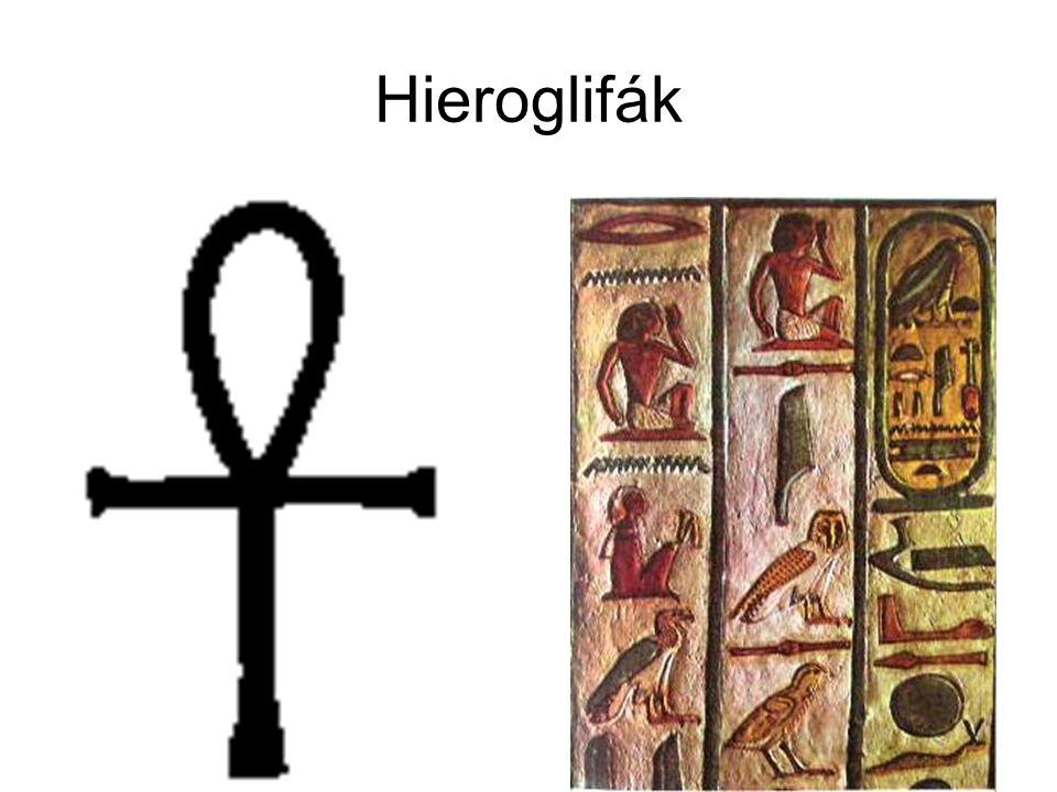 Hieroglifák