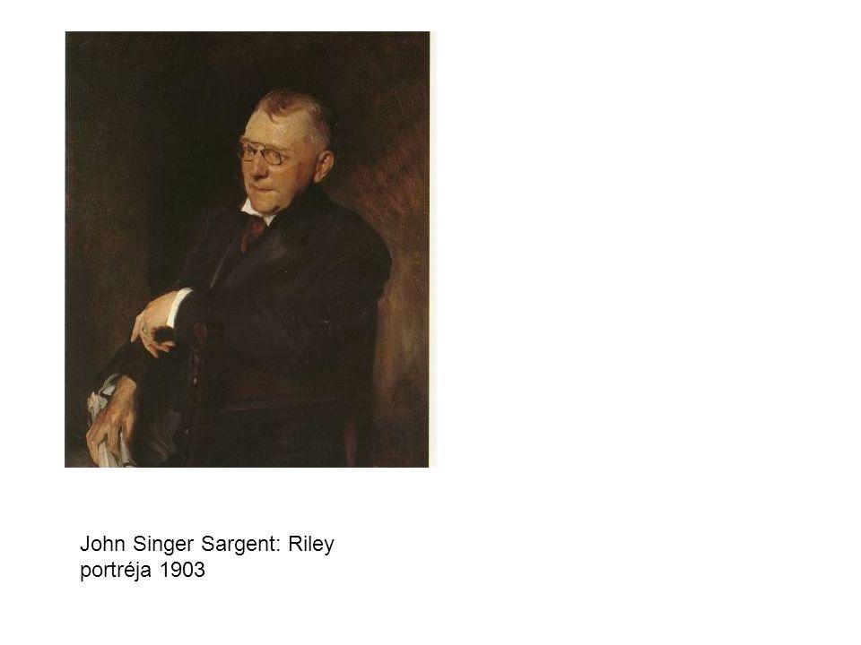 John Singer Sargent: Riley portréja 1903