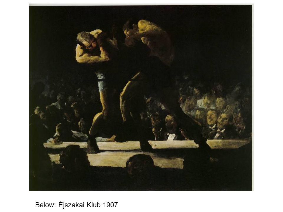 Below: Éjszakai Klub 1907