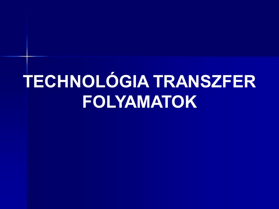 A technológia transzfer lineáris modellje Louis P.