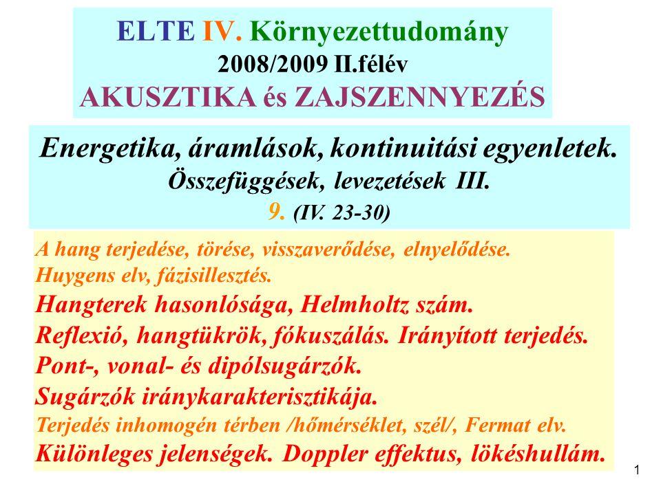 1 ELTE IV.